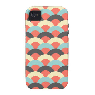 Seamless Japanese Pattern iPhone 4/4S Cases