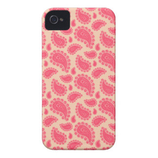 Seamless paisley with flower iPhone 4 Case-Mate cases