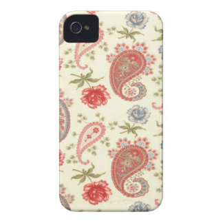 Seamless paisley with flower iPhone 4 cover