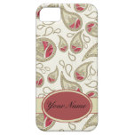 Seamless paisley with flower iPhone 5 case