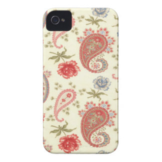 Seamless paisley with flower v2 iPhone 4 Case-Mate case