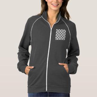 Seamless pattern black,white 04 jacket