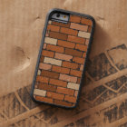 Seamless pattern of a face brick wall tough xtreme iPhone 6 case