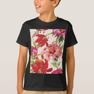 Seamless pattern with Lily T-Shirt