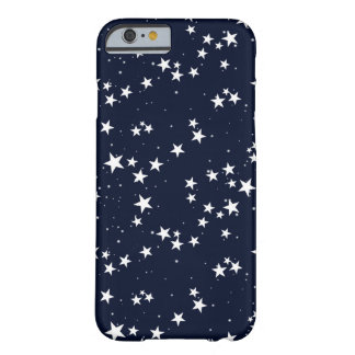 Seamless pattern with star in dark sky. barely there iPhone 6 case