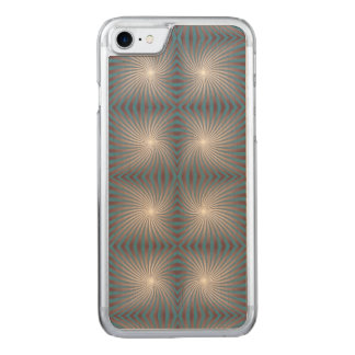 Seamless spiral carved iPhone 8/7 case