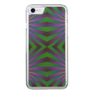 Seamless spiral pattern carved iPhone 8/7 case