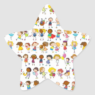 Seamless Star Sticker