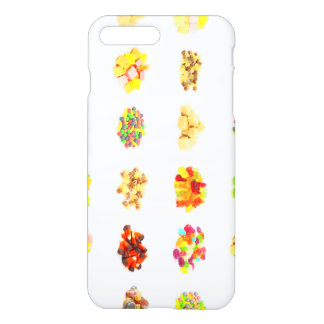 Seamless Sweets and Candy Pattern Background iPhone 7 Plus Case