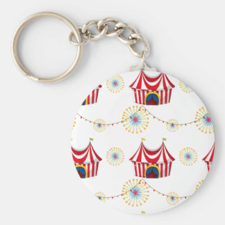 Seamless template with tents keychain