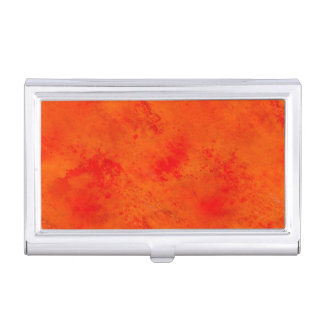Seamless Texture Background Abstract Orange And Business Card Holder