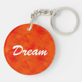 Seamless Texture Background Abstract Orange And Key Ring