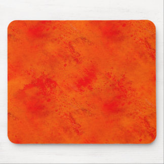 Seamless Texture Background Abstract Orange And Mouse Pad