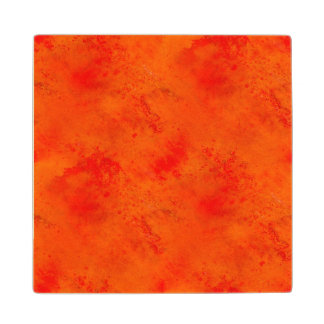 Seamless Texture Background Abstract Orange And Wood Coaster