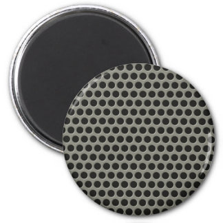 Seamless tiling metal grill pattern magnets