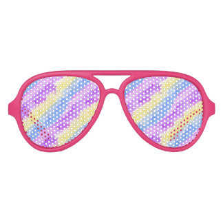 Seamless Watercolor Pattern by storeman Aviator Sunglasses