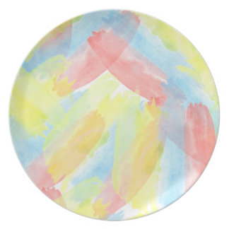 Seamless Watercolor Pattern by storeman Dinner Plate