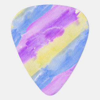 Seamless Watercolor Pattern by storeman Guitar Pick