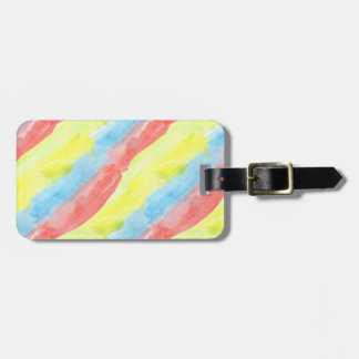 Seamless Watercolor Pattern by storeman Luggage Tag