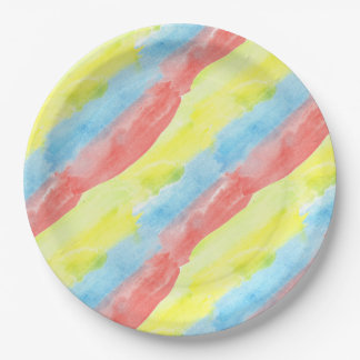 Seamless Watercolor Pattern by storeman Paper Plate
