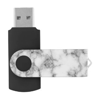 seamless white marble usb flash drive