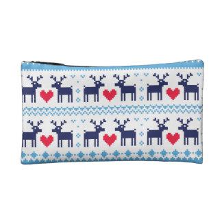 Seamless winter pattern Christmas bag