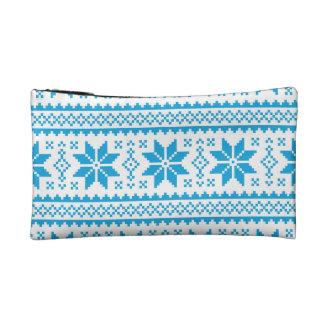 Seamless winter pattern Christmas bag Cosmetics Bags