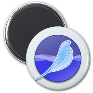 SeaMonkey Logo 6 Cm Round Magnet