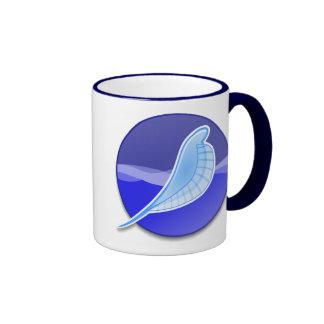 SeaMonkey Logo Ringer Mug