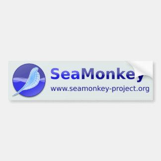 SeaMonkey Project - Horizontal Logo Bumper Sticker