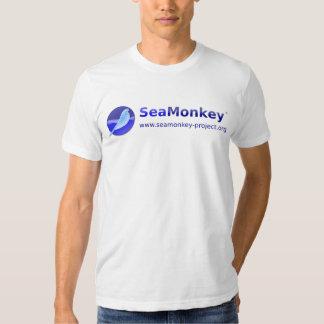 SeaMonkey Project - Horizontal Logo T Shirts