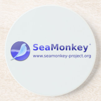 SeaMonkey Project - Vertical Logo Coaster