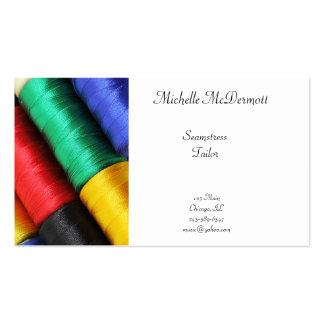 Seamstress Business Card