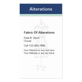Seamstress Fashion Business Cards