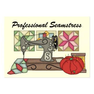 Seamstress / Sewing - SRF Business Card Templates
