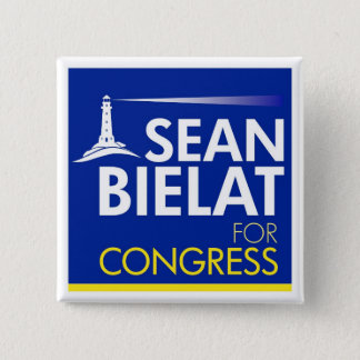 Sean Bielat for Congress Large Letter Button