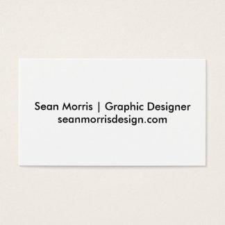 Sean Morris Business Cards