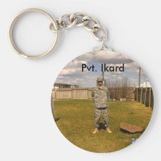 sean, Pvt. Ikard Key Ring