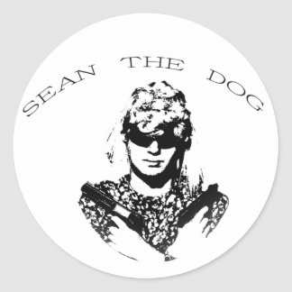 Sean The Dog Sticker Large