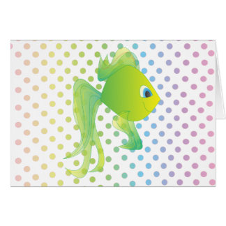 Sean the Fish Note Card