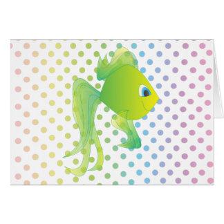 Sean the Fish Note Card