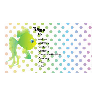 Sean the Fish Pack Of Standard Business Cards