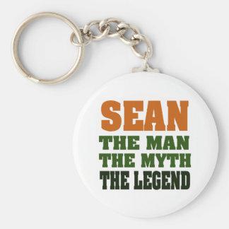 SEAN - the Man, the Myth, the Legend Basic Round Button Key Ring