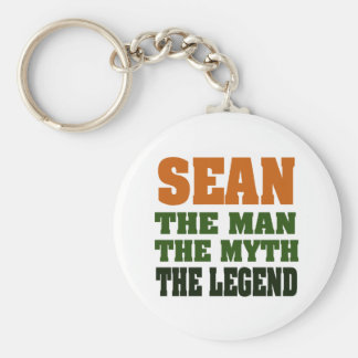 SEAN - the Man, the Myth, the Legend Key Ring