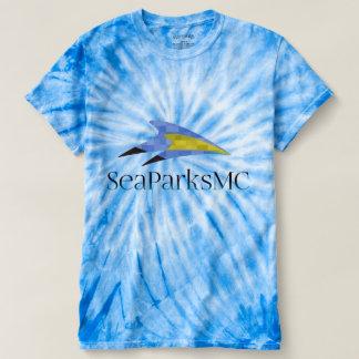 SeaParksMc Men's Cyclone Tie-Dye T-Shirt
