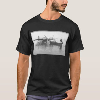 seaplane and boat T-Shirt