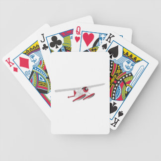 Seaplane Bicycle Playing Cards