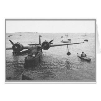 Seaplane & canoe card