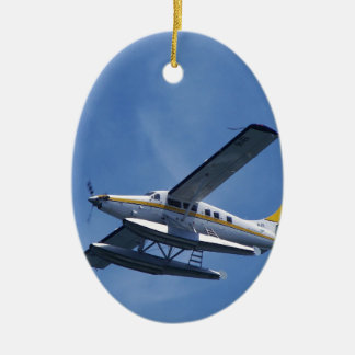 Seaplane Ceramic Oval Decoration