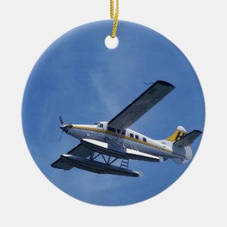 Seaplane Christmas Ornament